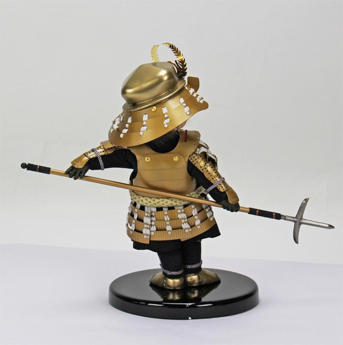 壹三(いちぞう)作 蓮ren赤糸威胴丸鎧/横