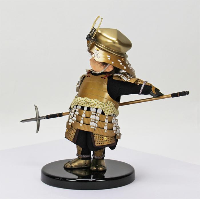壹三(いちぞう)作 蓮ren赤糸威胴丸鎧/顔