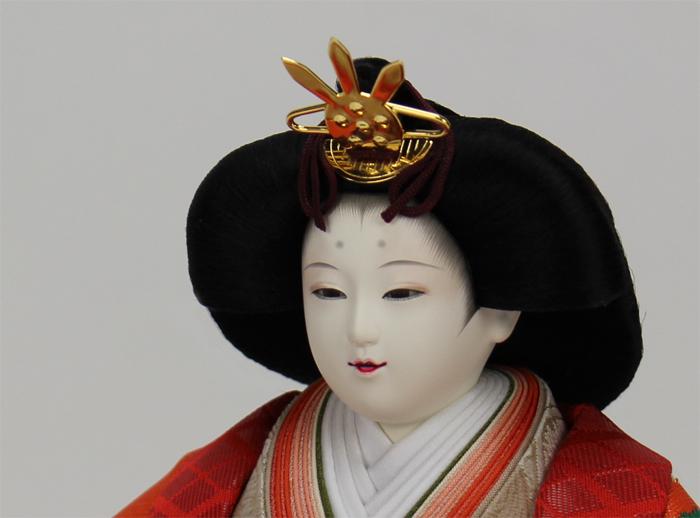清水久遊親王飾り姫顔